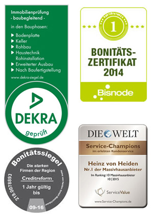Heinz von Heiden - Zertifikat